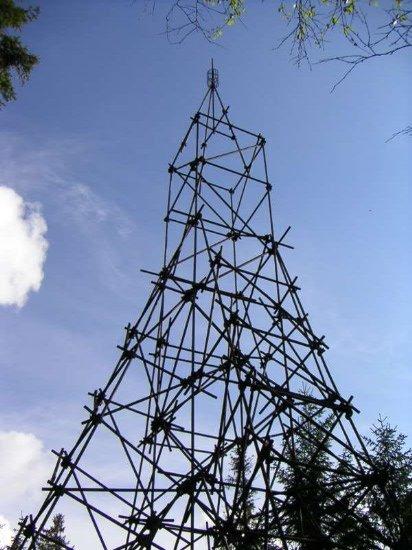 Triangulační věž na Koruně