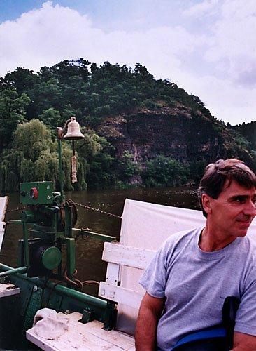 na přívozu na Berounce