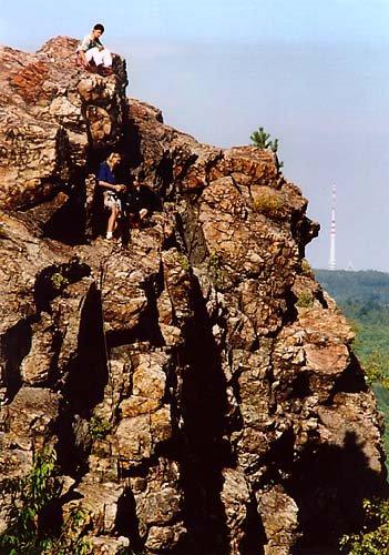 lezení je dřina