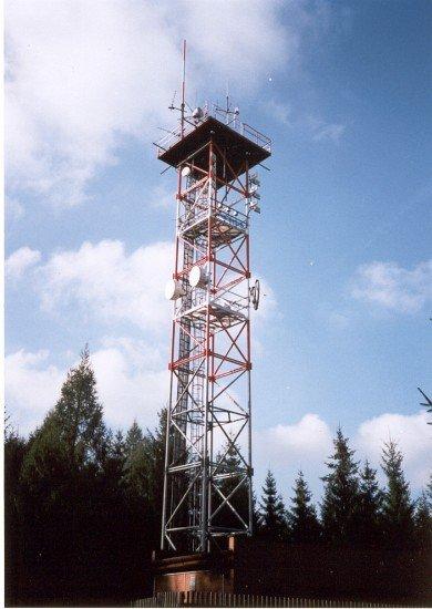 Komunikační věž na Písku
