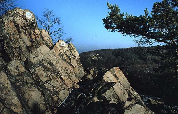 vrchol Babky - v pozadí Strážný