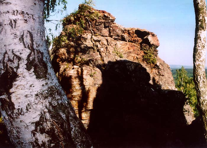 skalní průrva