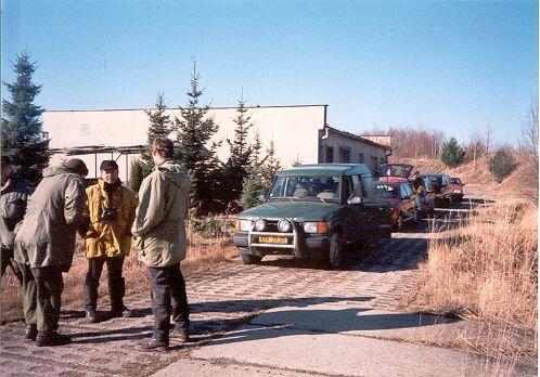 autopark účastníků exkurze
