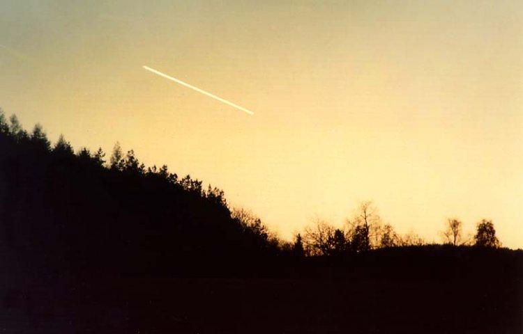 večerní Venuše na dlouhý čas