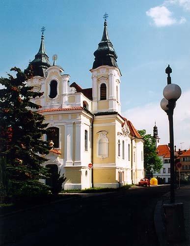 Kostel sv. Jana Nepomuckého v Rožmitále