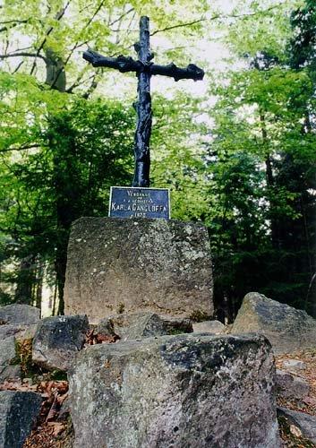 Gangloffův kříž pod Třemšínem
