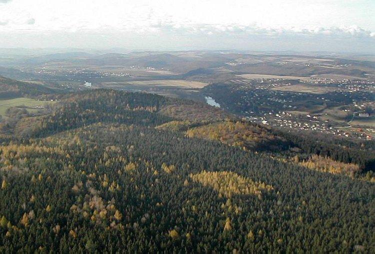 Mokropsy, Všenory a údolí Berounky