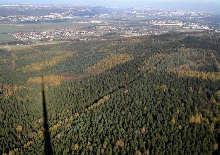 Praha, Radotín a Lipence ze 120m