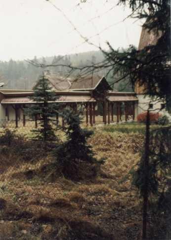 lovecký zámeček Tři Trubky od jihozápadu