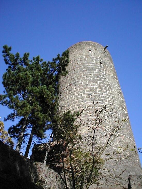 věž hradu Žebrák