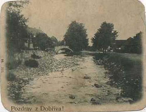 Dobřív 1899