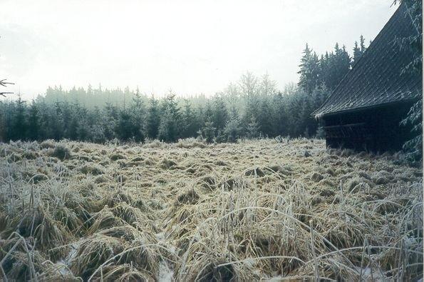 stará stodola u Václavky