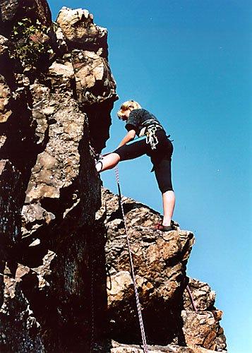 lezení je i krásné