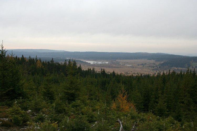 šumavský výhled z Kočky