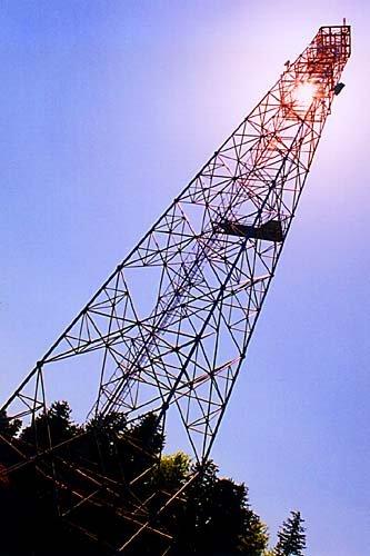 Komunikační věž na Marásku