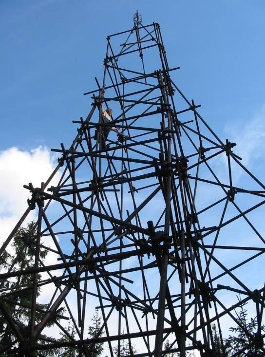 věž na Koruně a MT