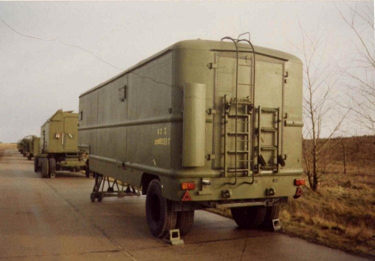 K-1 - kabina velení a startu