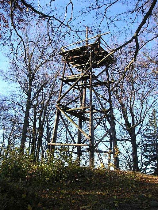 dřevěná věž na Třemšíně