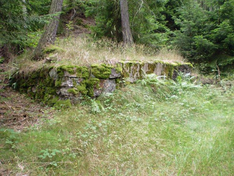 Růžek - pozůstatky těžby kamene