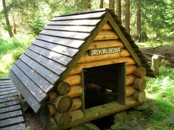 Dřevorubecká studánka
