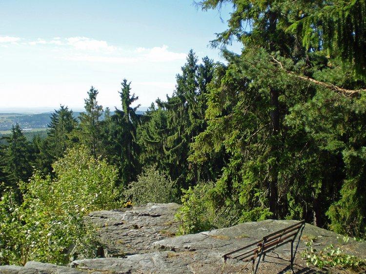 skalní útvar pod Velkou Třemošnou