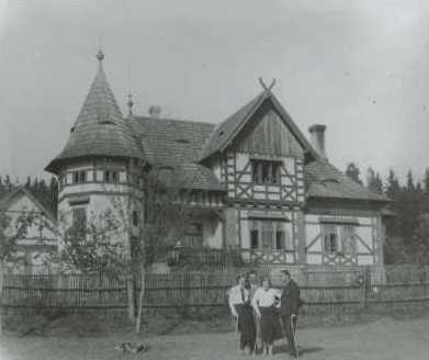 myslivna postavená v r. 1908