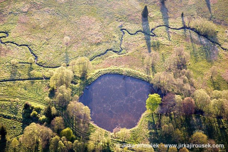 rybníčky pod Padrtí