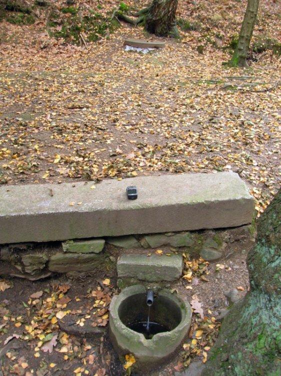 bezejmenná studánka nad Lamackým rybníkem