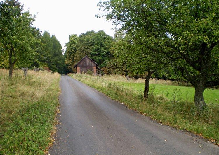 Skelná Huť - stodola