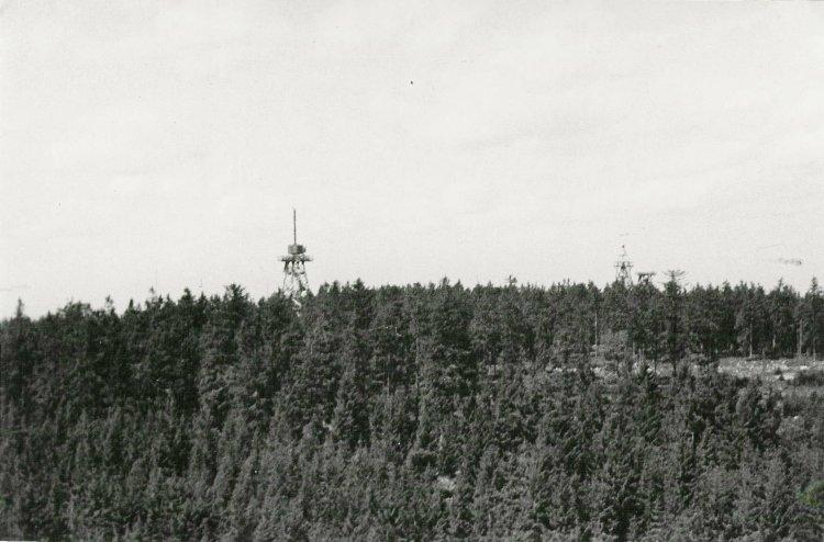 Veže Heinrich a v popředí Freya EGON