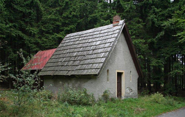Třemšínská bouda před rekonstrukcí