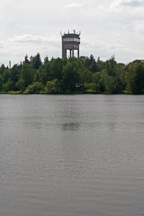 Železobetonová těžní věž dolu  Rudolf (resp. 25. únor)