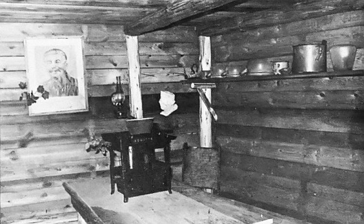 Rekonstrukce interiéru zemljanky Újezd