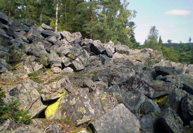 kamenné moře nad Třemi trubkami