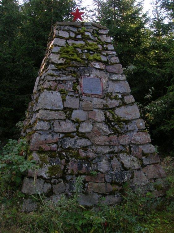 Památník u Malé Třemošné