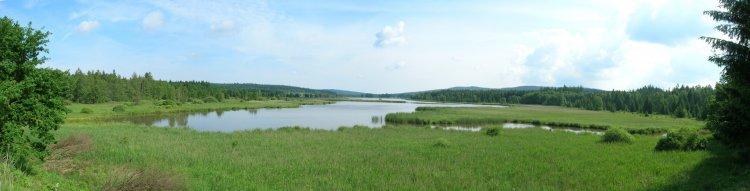 Padrťské rybníky - panorama