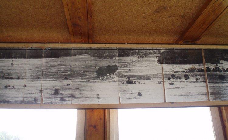 pomocné panorama na věži Padrť