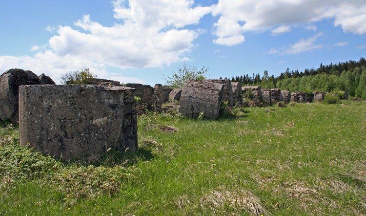 testovací betony po 70 letech