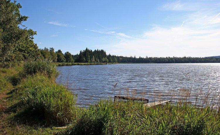 dlouhá hráz Hořejšího rybníka