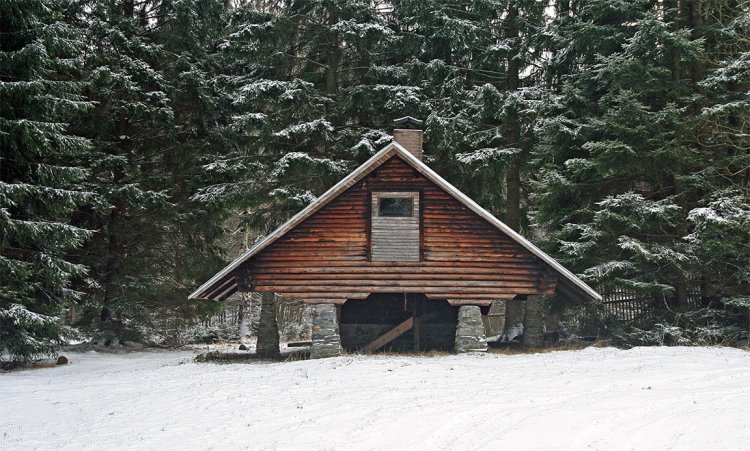Chata na Skelné Huti