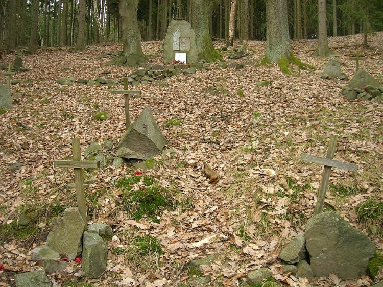 symbolický hřbitov pod Kuchyňkou