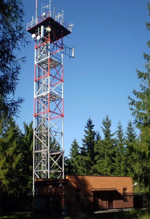 vrch Písky - malá věž