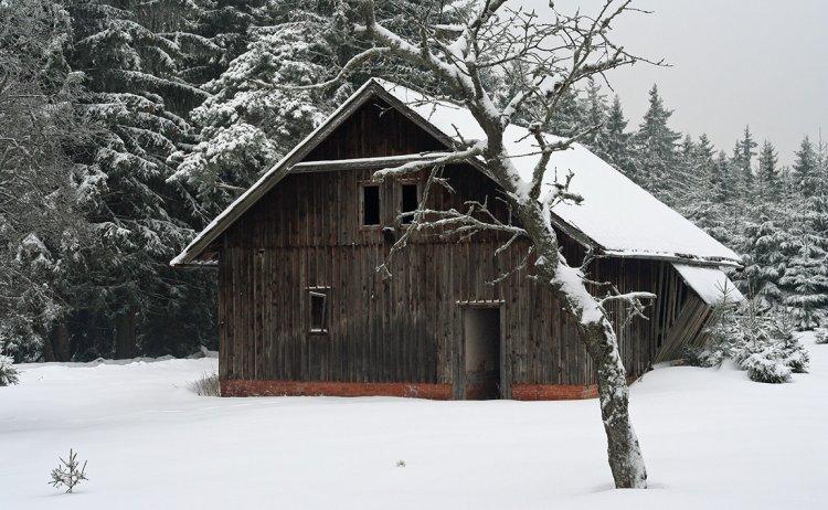 Na Rovinách - stodola