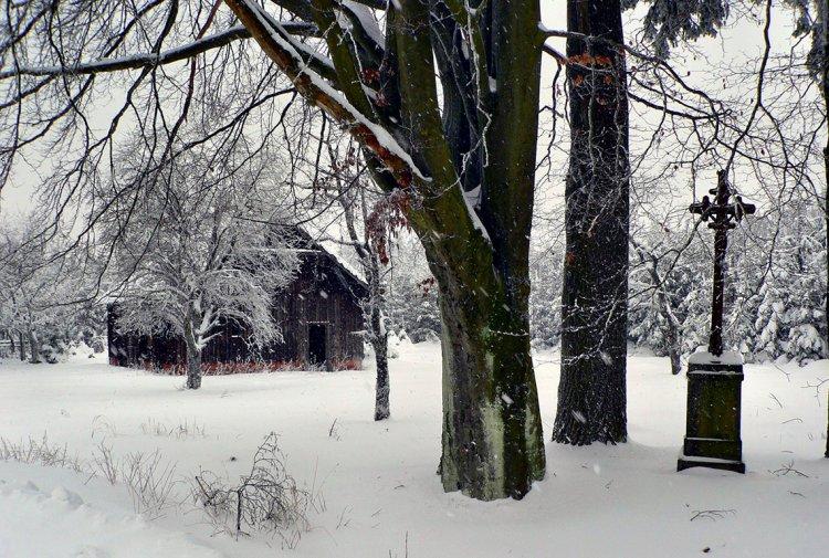 zima na Rovinách
