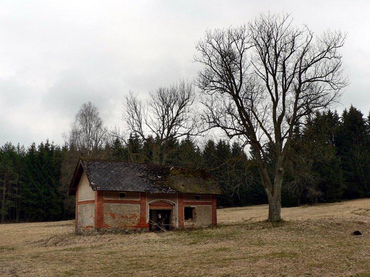 stodola třítrubecké hájovny