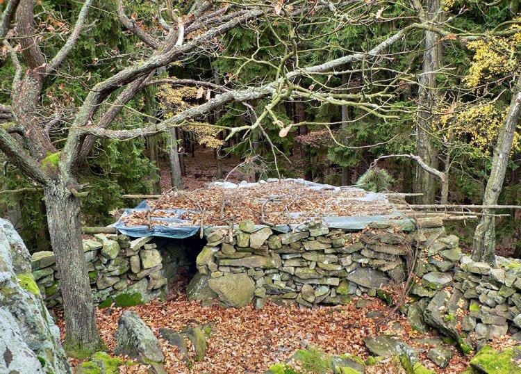 kamenná bouda na Koníčku