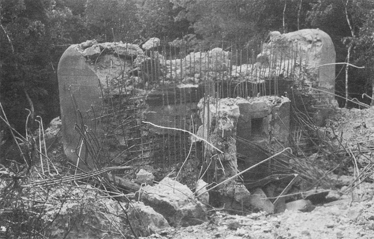 Řopík (B-7/55/A-140z) na úpatí brdského Pišťáku (1939 / foto J. Sklenář)