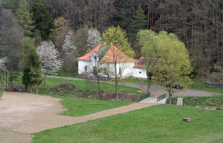 Červený potok pod VD Záskalská