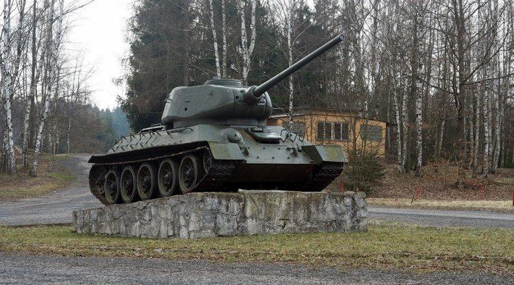 Tank na Bahnech