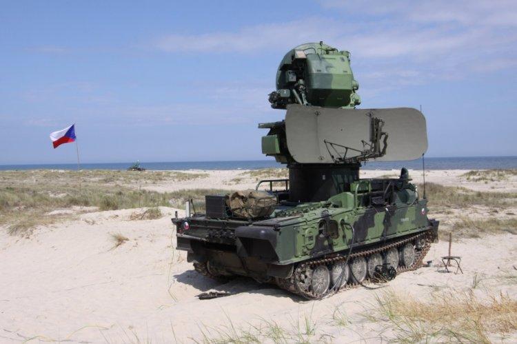 ŘNRL 1S91, rozvinutý v provozní poloze, foto Jan Kouba - OKaP MO